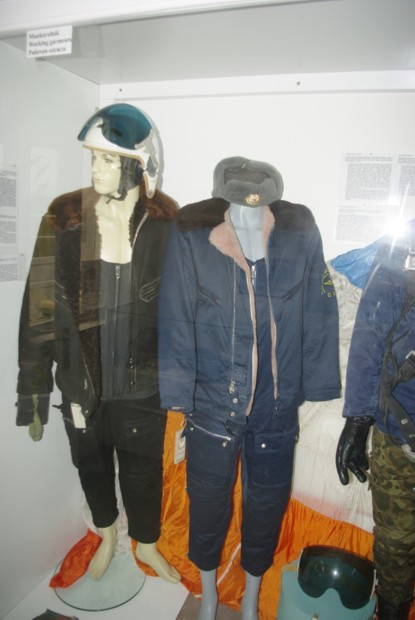 Winter suits of Soviet pilots